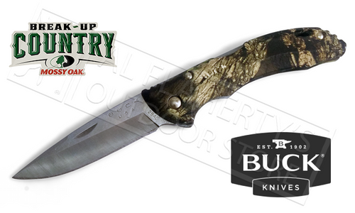 BUCK 284 BANTAM BBW KNIFE IN MOSSY OAK BREAK-UP COUNTRY CAMO #3284CMS24-B