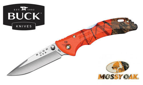 BUCK BANTAM BBW FOLDER IN MOSSY OAK BLAZE CAMO #0284CMS9-B