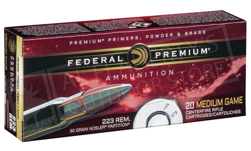 Federal Premium Nosler Partition 30-30