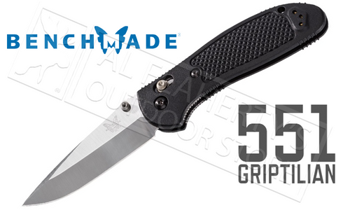 BENCHMADE 551 GRIPTILIAN FOLDER BY PARDUE DESIGN