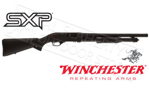 "WINCHESTER SUPER X PUMP DEFENDER 12 GAUGE, 3"" CHAMBER, 18.5"" BARREL"