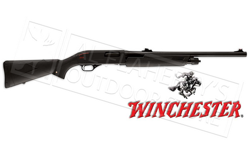 "WINCHESTER SXP BLACK SHADOW DEER 12 GAUGE, 3"" CHAMBER, 22"" BARREL, RIFLED WITH SIGHTS"