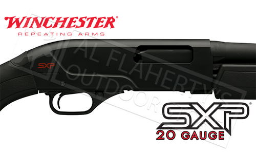 "WINCHESTER SXP BLACK SHADOW DEER 20 GAUGE, 3"" CHAMBER 22"" BARREL, RIFLED WITH SIGHTS"