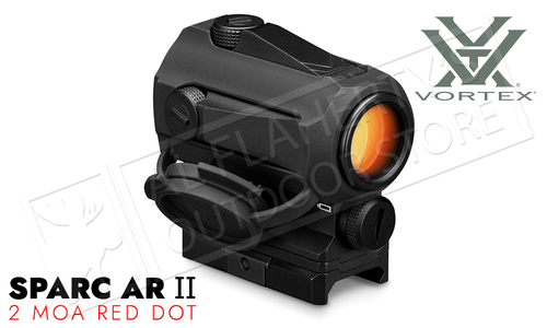 Vortex SPARC AR 2 Red Dot with Multi-Height Mount - 2 MOA (LED Upgrade) #SPC-AR2