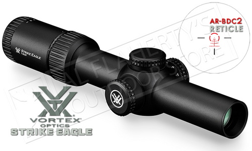 Vortex Strike Eagle 1-8x24mm Scope with AR-BDC2 Illuminated Reticle #SE-1824-1