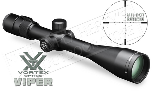 Vortex Viper 6.5-20x50mm PA Scope with Mil-Dot Reticle #VPR-M-06MD