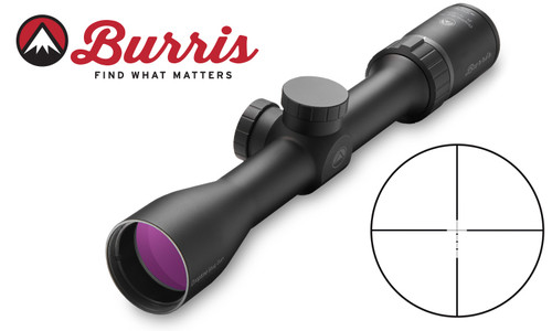 Burris Droptine Shotgun Scope 2-7x35mm with Ballistic Plex Reticle #200016