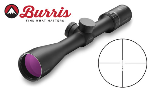 Burris Droptine Shotgun Scope 3-9x40mm with Ballistic Plex Reticle #200017