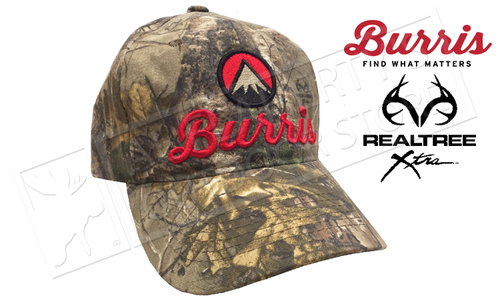 Burris Embroidered Baseball Cap in Realtree Xtra Camo #SC208622