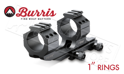 "Burris Mount AR-P.E.P.R. 1"" w/Picatinny Top Rings #410343"