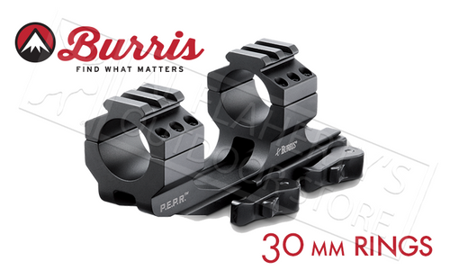 Burris Mount AR-P.E.P.R. 30mm Quick Detach w/Picatinny Top Rings #410342