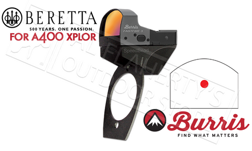 Burris SpeedBead Reflex Sight System for Beretta A400 Xplor Series, Mount + FastFire Reflex Sight #300253
