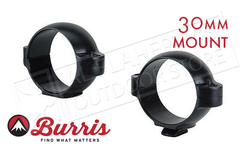 Burris Standard Rings Rings 30mm Low Matte #420319
