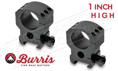 """Burris XTR Xtreme Tactical Scope Rings, High, 1"""" #420182"""