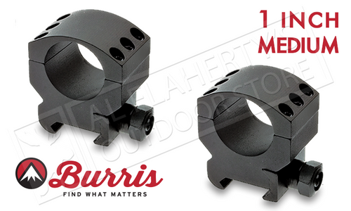 "Burris XTR Xtreme Tactical Scope Rings, Medium, 1"" #420181"