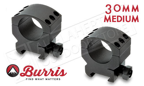Burris XTR Xtreme Tactical Scope Rings, Medium, 30mm #420162
