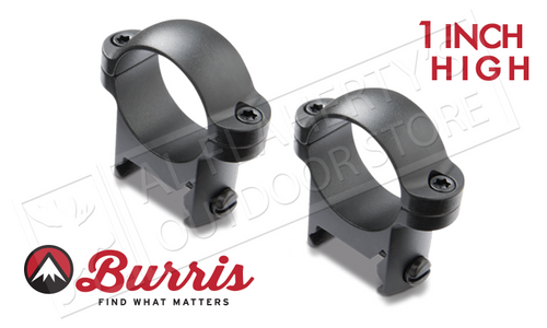 "Burris Zee Rings 1"" High Matte #420087"