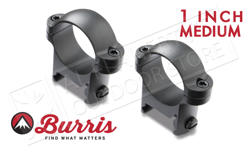 "Burris Zee Rings 1"" Medium Matte #420084"