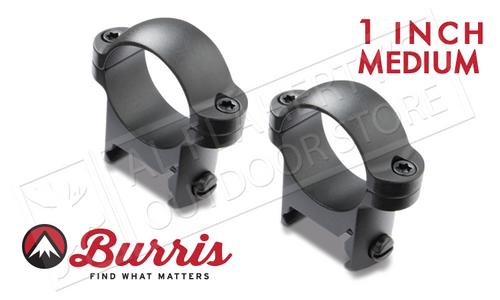 "Burris Zee Rings 1"" Medium Matte #420084"