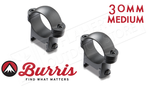 Burris Zee Rings 30mm Medium Matte #420044