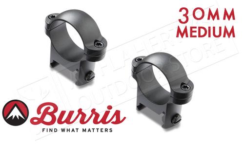 Burris Zee Rings 30mm Medium Matte #420044
