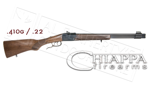 Chiappa Firearms Double Badger Folding Over Under Rimfire Rifle Shotgun Combo #500