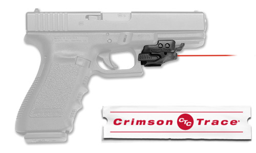 Crimson Trace Rail Master Universal Laser Sight, Red #CMR-201