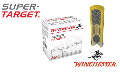 """(STORE PICKUP ONLY) 20 GAUGE - WINCHESTER SUPER-TARGET, #7.5, 2-3/4"""", CASE OF 250"""