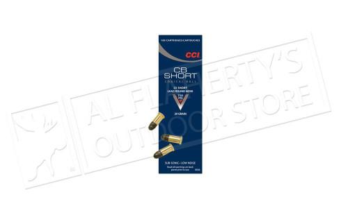 CCI 22 Short CB Ammunition, Box of 100 #0026