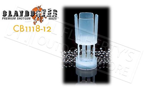 ClayBuster CB1118 Wads - 12 Gauge 1-1/8 oz. Bag of 500 #CB1118-12