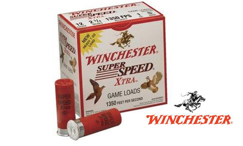 "(STORE PICK UP ONLY) 12 GAUGE - WINCHESTER SUPER SPEED, #7.5 SHOT, 2-3/4"", CASE OF 250"