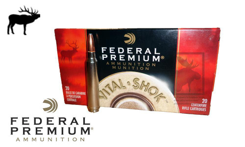 Federal Premium 300 Winchester Magnum Vital Shok, Nosler Partition 180 Grain Box of 20 #P300WD2C