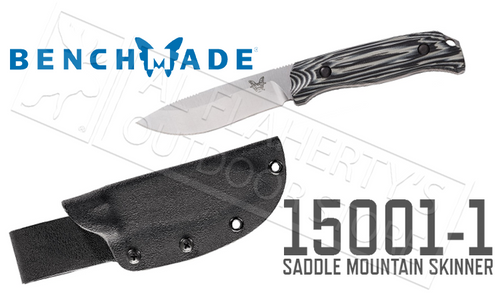 BENCHMADE 15001 SADDLE MOUNTAIN SKINNER WITH G10 HANDLE #15001-1