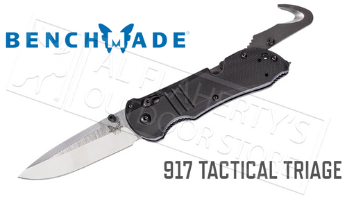 BENCHMADE 917 TACTICAL TRIAGE FOLDING KNIFE #917