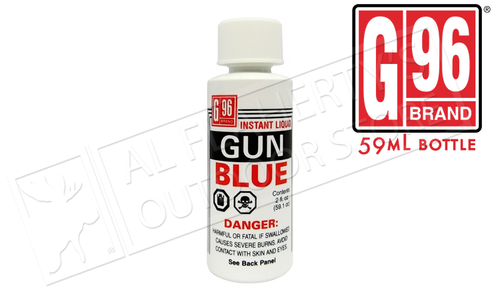 G96 Gun Blue Liquid, 59mL Bottle #1069