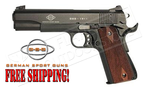 GSG 1911 22LR Government Frame with Faux-Wood Grips