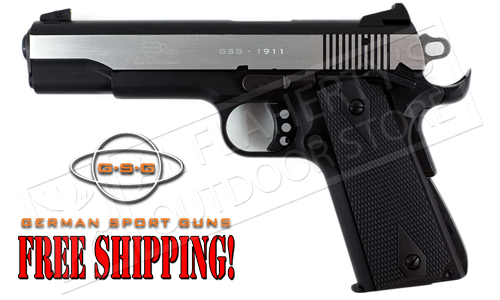 GSG 1911 22LR Government Frame Stainless Two-Tone #H07GSG911SS