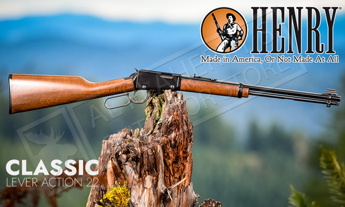 Henry Classic Lever Action 22 Caliber Rifle #H001