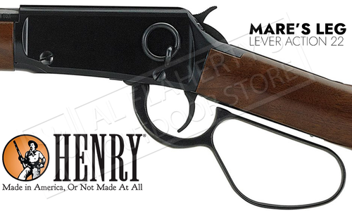 Henry Mare's Leg Lever Action Rifle 22S/LR #H001ML
