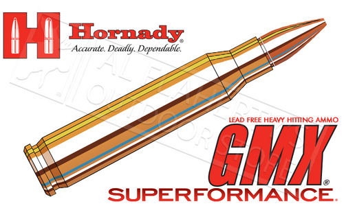 Hornady 223 Rem Superformance, GMX 55 Grain 20 Round Box #83274