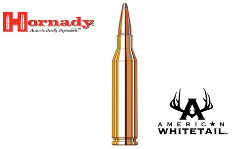 Hornady 243 WIN American Whitetail, Interlock BTSP 100 Grain Box of 20 #8047