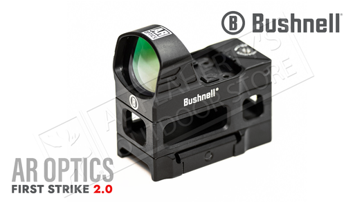 Bushnell AR Optics First Strike 2.0 Reflex Sight - 4 MOA with Hi-Rise Mount #AR71XRS