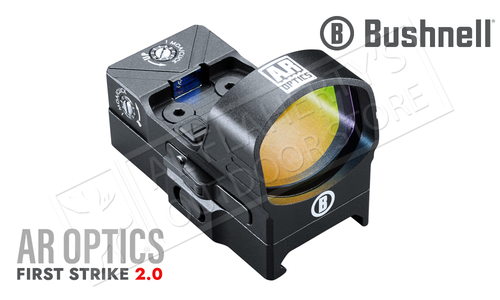 Bushnell AR Optics First Strike 2.0 Reflex Sight - 4 MOA with Hi-Rise Mount #AR71XRS