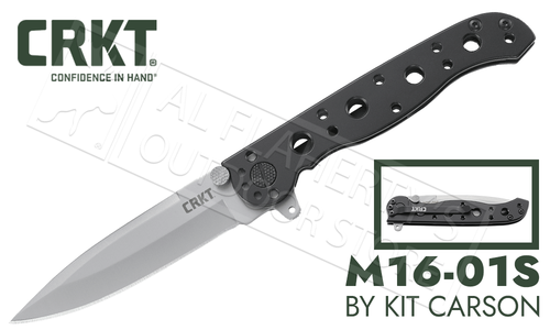 CRKT M16-01S - Spear Point - Designed by Kit Carson