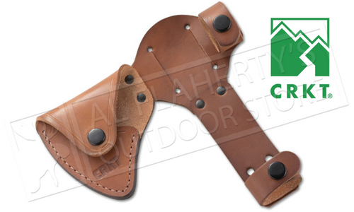 CRKT CHOGAN WOODS T-HAWK LEATHER SHEATH #D2730