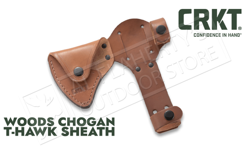 CRKT Leather Sheath for the Chogan Woods T-Hawk Axe #D2730