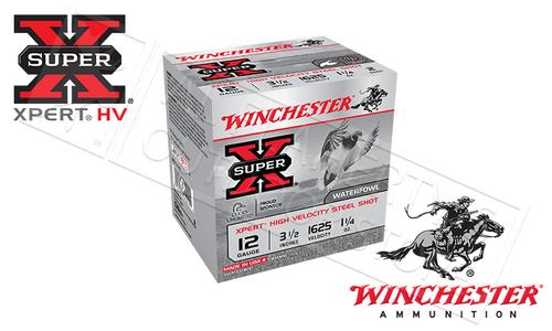 "WINCHESTER SUPER-X XPERT HIGH VELOCITY WATERFOWL SHELLS, 3-1/2"", #BB 1-1/4 OZ. 1625FPS, BOX OF 25"