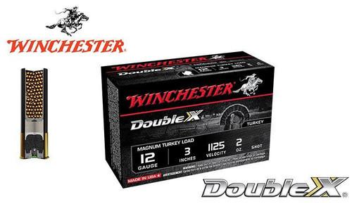 "WINCHESTER DOUBLE X MAGNUM TURKEY SHELLS, 3"", 2 OZ. #4, 5, 6 SHOT, 1125 FPS, BOX OF 10"
