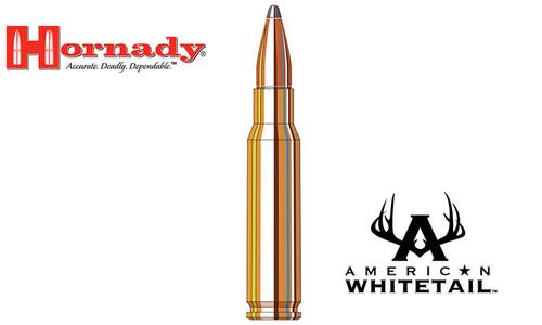 Hornady 308 WIN American Whitetail, Interlock SP 150 Grain Box of 20 #8090