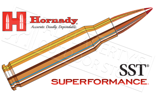 Hornady 308 WIN Superformance, SST 165 Grain Box of 20 #80983